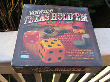 Yahtzee Texas Hold 'em Poker & dice board game NEW sealed NIB