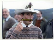 q959 - Prince Edward at Ballater in 1986 - Royalty postcard