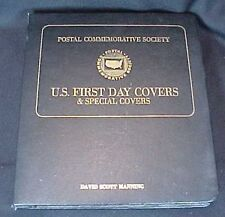 Postal Commemorative Society U.S. First Day Covers 1976 1977 22 Covers 4 Sheets