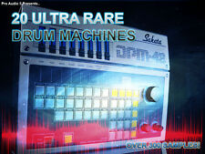 Ultra Rare Vintage Drum Machines  -    Over 300 Samples! -     WAV - DOWNLOAD