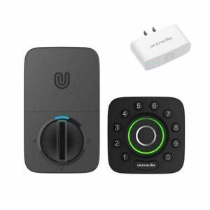 Ultraloq U-BOLT-PRO-UB01 Bluetooth Enabled Fingerprint Keypad Deadbolt w/ WiFi