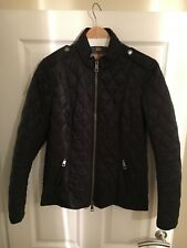 Burberry Diamond Quilted Jacket Size M- Black