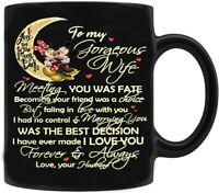Mickey To My Gorgeous Wife Love You Coffee Mug