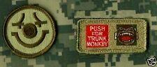 "Daesh Whacker Green Berets Sas Jtf burdock 2"" 2-Tab: Trunk Monkey + Evil Grin"