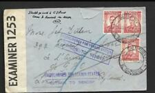 S.RHODESIA, KGV1 CENSORED MAIL TO UK, MAY 1940, INSTRUCTIONAL MAIL, SCARCE.