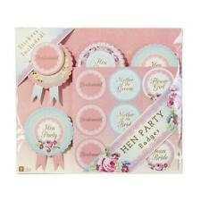 6 Truly Wedding Hen Night Party Rosette Badges By Talking Tables Favours Gift