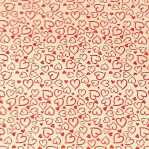Hearts Chocolate Transfer Sheets