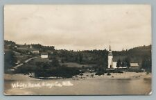 Whitehead NEW BRUNSWICK Rare RPPC Kings County—Antique Photo 1910s