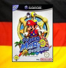 # Super Mario Sunshine (alemán) Nintendo GameCube juego // GC & Wii-Top #