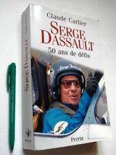 SERGE DASSAULT 50 Ans de Défis, Carlier + photos, aeronautique-Mirage-Falcon