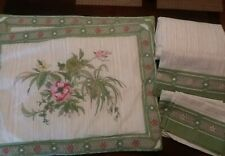 New Intima Hogar Renacimiento FULL Fitted & Flat Sheet + Pillow Cases + Sham Set