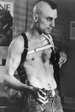 Robert De Niro As Bickle In Taxi Driver Iconic Pose Mohican Hair 18x24 Poster