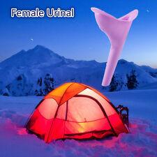 Portátil Urgente Silicona Urinario Micción Orina Dispositivo Baño Viaje Femenino