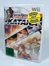 SAMURAI WARRIORS KATANA für Nintendo Wii NEU und in Folie