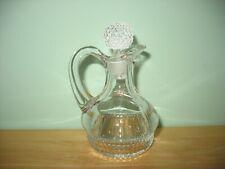 Vintage Duncan & Miller Glass Tear Drop Cruet