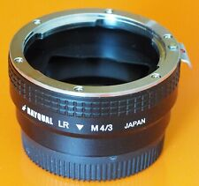 Kindai Rayqual LR M4/3 Leica R mount to Micro 4/3 lens adapter | MFT BMPCC