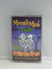 MONSTER MASH & Other Songs of Horror CASSETTE TAPE Halloweeen Party Haunted