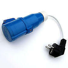 CARAVAN / MOTORHOME - 240 Volt Mains Continental / Euro Conversion Lead  - PO108