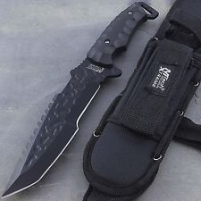 """12"""" MTECH XTREME TACTICAL FULL TANG TANTO HUNTING KNIFE Survival Fixed Blade"""