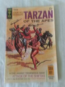 Gold Key Comics Tarzan of the Apes #185 july 1969 Silver Age FN+
