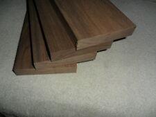 """Black Walnut Lumber 3/4""""x4""""x12"""" - 4 Pack"""