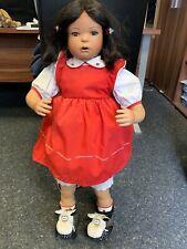 Inge Tenbusch Künstlerpuppe Porzellan Puppe 82 cm. Top Zustand