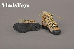 """CALTEK Shoes For 1/6 Scale 12"""" Action Figure Modern  Military Boots Series 2"""