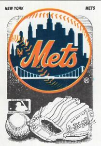 NEW YORK METS BASEBALL CARDS - Lot of 100+ Different MLB Cards FREE SHIPPING!
