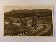 The Trossachs  Vintage B&W Postcard c1930s The Peak of Ben Aan