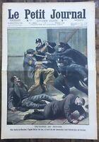 Le Petit Journal N° 1001 du 23/01/1910 - Victime du devoir