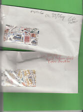 Bund Dauermarken ca. 39,56 g u. ca. 34,39 g papierfrei in zwei Umschlägen