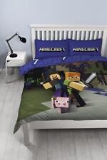 Minecraft goodguys Set Couvre Lit double Enfants Chambre à coucher pour enfants