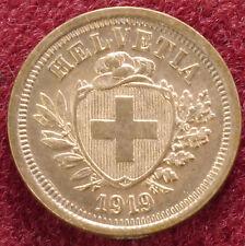 Switzerland 1 Rappen 1919 (C1802)