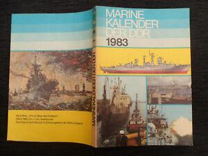 "6527 EAST GERMAN/DDR/GDR/NVA COLD WAR "" Navy/Marine 1983 Calendar book """