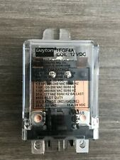 Dayton 1EGF4A 12VDC, DPDT Relay 25A Contacts
