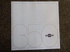 1971 CHEVROLET 350 (SAME AS HQ STATESMAN) ''RARE'' RHD AUST EXPORT BROCHURE