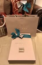 100% Authentic Burberry Gift Box Green Lace , London England Shopping Bag New !