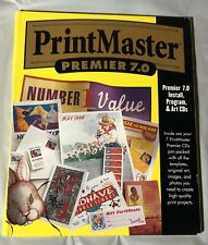 PrintMaster Premier Plus 7.0 for Windows - Graphics Desktop Publishing Software