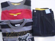 Gymboree RACE DAY Red Grey Black Strip Top & Black Pants Boy Size 6 NWT - Fall