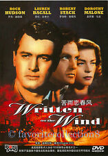 Written on the Wind (1956) - Lauren Bacall, Rock Hudson - DVD NEW