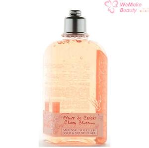 L'Occitane Cherry Blossom Bath & Shower Gel 8.4oz / 250ml New