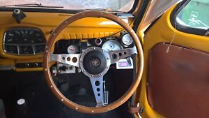 temp TEMPERATURE GAUGE & warning light kit-car morris minor mini MGA MGB moke