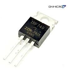 5 Stück IRF740 N-Ch. MOSFET 400V 10A 550mOhm LL LogicLevel ab 4,5V