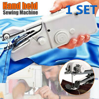 Hand Held Portable Stitch Sewing Machine Stitch Sew Quick Handy Cordless  z p