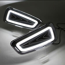 For Ford F-150 SVT Raptor 2010-2014LED Daytime Running Lights DRL Black Frame