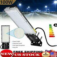 100W Commercial LED Street Light Outdoor Garden Yard Road Lamp 110V US