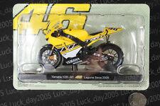 Yamaha Yzr-M1 #46 Rossi Laguna Seca 2005 Motorcycle Racing Model 1/18