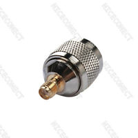 10Pcs N Male Type to SMA Female Jack RF Coax Adapter Coaxial Connector