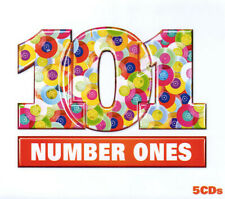 Various Artists - 101 Number. Ones. 5 x CD. Mint. No Booklet