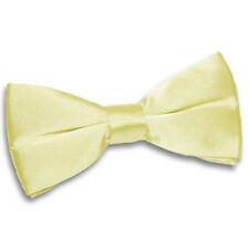 Cravates, nœuds papillon et foulards jaunes en polyester pour homme